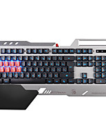 A4TECH B2418 Mechanical Keyboard USB 104 Keys Blue Switches Backlit Spill-Resistant