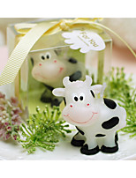 cheap -Creative birthday candle candle cows small candle