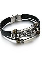 cheap -Men's Link Bracelet , Asian Vintage Ethnic Leather Alloy Dragon Jewelry Daily Festival
