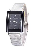 Недорогие -Муж. Жен. Модные часы Нарядные часы Наручные часы Китайский Кварцевый Имитация Алмазный сплав Группа На каждый день минималист