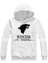 cheap -Winter is Coming Ugly Christmas Sweater / Sweatshirt Male Festival / Holiday Halloween Costumes White Black Letter