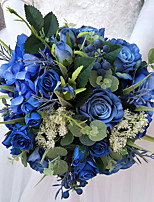 Bouquets de Noiva Buquês Casamento Ocasião Especial Outros Material Seda 11.02