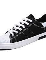 preiswerte -Herren Schuhe PU Frühling Herbst Komfort Sneakers für Normal Schwarz Blau