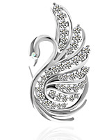 cheap -Women's Brooches , Metallic Basic Alloy Irregular Jewelry For Wedding Party