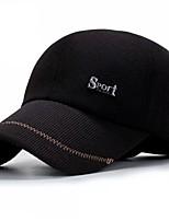 Недорогие -Для мужчин На каждый день Бейсболка,Все сезоны Хлопок Пэчворк Стильные Черный Темно-серый Темно синий