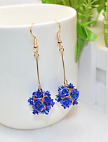 cheap -Women's Drop Earrings Sweet Fashion Alloy Flower Jewelry Party Daily