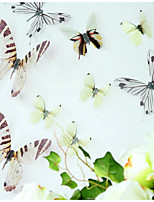 Animal Stickers muraux Autocollants avion Autocollants muraux décoratifs,Vinyle Décoration d'intérieur Calque Mural Mur Fenêtre
