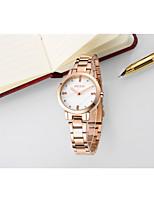 Недорогие -Жен. Модные часы Наручные часы Имитационная Четырехугольник Часы Китайский Кварцевый Защита от влаги Имитация Алмазный сплав Группа