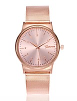 cheap -Women's Fashion Watch Dress Watch Wrist watch Chinese Quartz Casual Watch Alloy Band Casual Minimalist Gold Rose Gold