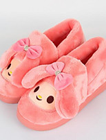cheap -Women's Shoes Polyamide fabric Cotton Winter Comfort Slippers & Flip-Flops Flat for Casual Pink Blue Orange