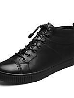 economico -Da uomo Scarpe Nappa Inverno Autunno Comoda Sneakers per Casual Nero