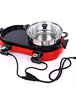 cheap -Camping Griddle Camping Stove Camping Burner Stove Outdoor Cookware Easy to Install Metalic for