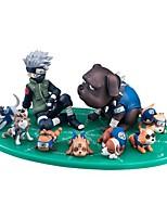 Anime figurines inspirées par naruto hatake kakashi pvc 3-9 cm modèle jouets poupée jouet