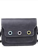 cheap -Women Bags PU Polyester Shoulder Bag Buttons Zipper for Casual All Season Dark Grey Brown Dark Green Gray Blushing Pink