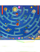 cheap -Maze Magnetic Maze Maze Toys Flat Shape Stress and Anxiety Relief Decompression Toys Classic Wooden Kids Adults' 1 Pieces