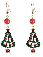 cheap -Women's Drop Earrings , Lovely European Elegant Alloy Christmas tree Jewelry Christmas Carnival