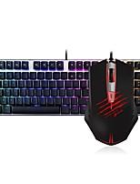 baratos -Dareu com fio teclado mecânico teclado azul comuta 1.8m seis teclas 2000dpi