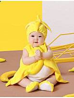 cheap -Baby Unisex Daily Solid Clothing Set,Nylon Spring Summer Active Sleeveless Yellow