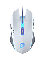 cheap -Dareu EM915 Wired Gaming Mouse seven key 4000DPI