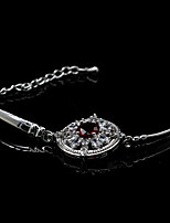 cheap -Women's Bracelet Synthetic Diamond Basic Rhinestone Silver Plated Jewelry For Wedding Party