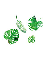Botanical Shapes Wall Stickers Plane Wall Stickers Decorative Wall Stickers,Vinyl Home Decoration Wall Decal For Window Wall