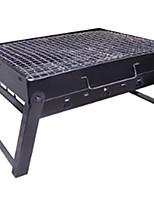 preiswerte -Camping-Grill Kochutensilien für den Outdoor Gourmet tragbar Edelstahl Metal für Camping