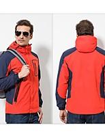 cheap -Unisex Hiking 3-in-1 Jackets Outdoor Windproof Rain-Proof Heat Retaining Breathability 3-in-1 Jacket Full Length Hidden Zipper for