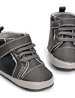 cheap -Baby Shoes PU Spring Summer Comfort First Walkers Sneakers for Casual Gray