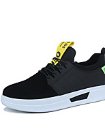 cheap -Men's Shoes Leatherette Winter Fall Comfort Sneakers for Casual Yellow Gray Black
