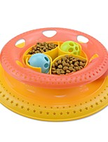 cheap -Cat Cat Toy Pet Toys Ball Balls Interactive Toys Ball Bell Plastic For Pets