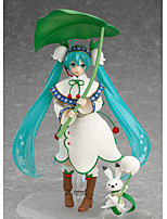 baratos -Figuras de Ação Anime Inspirado por Vocaloid Hatsune Miku 13 CM modelo Brinquedos Boneca de Brinquedo