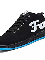 cheap -Men's Shoes PU Spring Fall Comfort Sneakers for Casual Gray Dark Blue Black