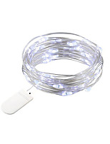 cheap -BRELONG 1m 10LED Copper wire string lights For Christmas Halloween Wedding Party Decorations