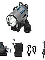cheap -ANOWL LS5861-1 LED Light LED 1100 lm 3 Mode Cree XM-L2 with Battery and Charger Easy Carrying High Quality Camping/Hiking/Caving Everyday