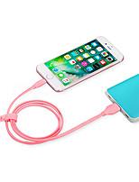 billige -Belysning USB-kabeladapter Hurtig opladning Til iPhone 100 cm Plastik