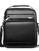 cheap -Men Bags PU Shoulder Bag Zipper for Event/Party Casual Winter Fall Brown Black