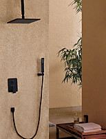 cheap -Contemporary Wall Mounted Rain Shower Handshower Included Painting , Shower Faucet