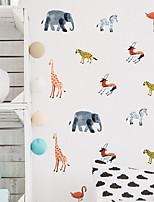 Animal Stickers muraux Autocollants avion Autocollants muraux décoratifs,Vinyle Décoration d'intérieur Calque Mural Mur