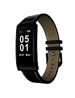 cheap -Smart Bracelet Heart Rate Monitor Pedometers Exercise Record Call Reminder Camera Control Pedometer Sleep Tracker Find My Device Alarm