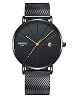 Недорогие -Муж. Жен. Нарядные часы Повседневные часы Модные часы Японский Кварцевый Календарь Секундомер Защита от влаги Повседневные часы