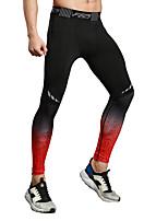 abordables -Para Hombre Adulto Pantalones de Running Secado rápido Transpirabilidad Sin costura Ligeras Medias/Mallas Largas Leggings Prendas de abajo