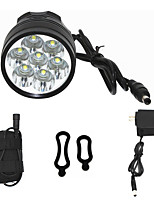 ANOWL 6668 LED Light LED 7000 lm 3 Mode Cree XM-L T6 Easy Carrying High Quality Cycling/Bike Black