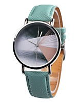 abordables -Mujer Niños Reloj Deportivo Reloj de Moda Reloj creativo único Chino Cuarzo Cronógrafo Reloj Casual Piel Banda Casual Elegant Negro
