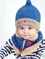 cheap -Unisex Scarf, Hat & Glove Sets,Winter Others Blue Blushing Pink