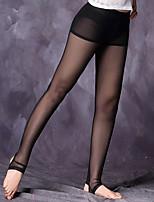 abordables -Danza del Vientre Pantalones y Faldas Mujer Actuación Tul Plisados Sin mangas Cintura Media Pantalones