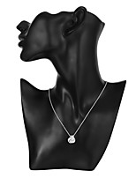 cheap -Men's Women's Fashion Pendant Necklace , Silver Plated Pendant Necklace , Fashion Daily