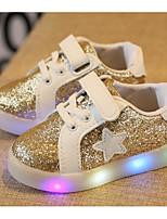 economico -Da ragazza Scarpe PU (Poliuretano) Inverno Autunno Comoda Sneakers Footing Lacci per Casual Oro Argento Rosa