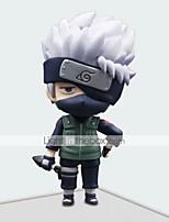 action figures anime ispirate a naruto hatake kakashi pvc 17.5 * 8 * 21 cm modello giocattoli bambola giocattolo