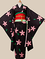 cheap -Inspired by Hoozuki no Reitetsu Zashiki-warashi 1 Anime Cosplay Costumes Cosplay Suits Others Kimono Waist Accessory Headpieces Sash /