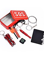 economico -First Aid Kit Survival Kit Attività all'aperto Campeggio / Escursionismo / Speleologia Campeggio e hiking All'aperto Strumenti Lega di